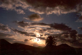 Lanzarote Abendstimmung